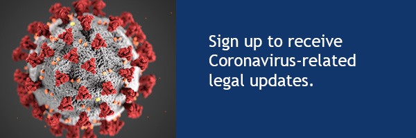 Sign up to receive Coronavirus-related updates