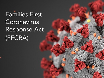 Coronavirus with Families First Coronavirus Response Act in text